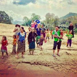 Laos-Slowboat-Hafen