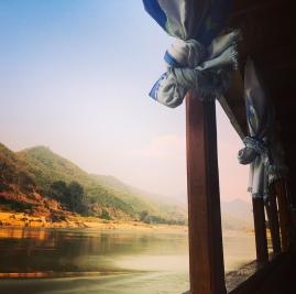 Laos-Slowboat-view