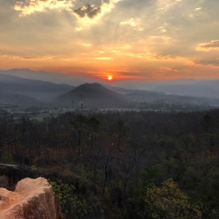 Pai-Canyon-Sonnenaufgang