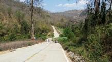 Pai-Nationalpark-Roller-schieben