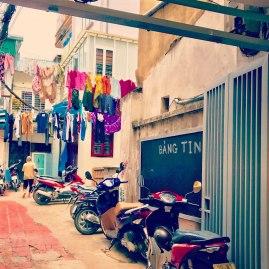 Hanoi-Hinterhof