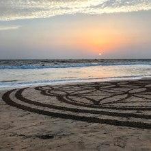 Indien-Goa-Strand-Mandala
