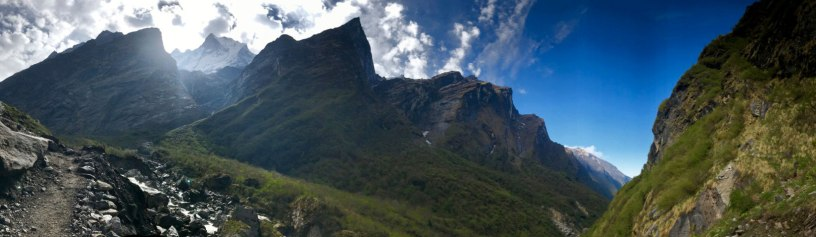 Nepal-Bergluft