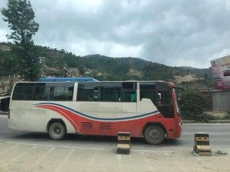 Nepal-Busfahrt