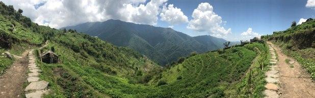 Nepal-Landschaft