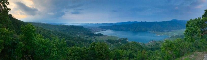 Nepal-Sarankot-Sonnenaufgang