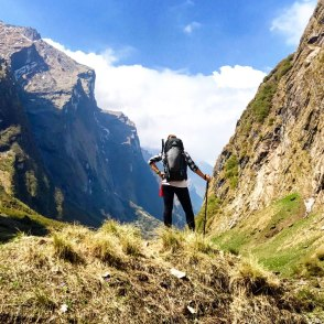 Nepal-Trek-Rueckweg