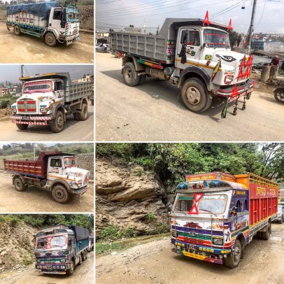Nepal-Trucks