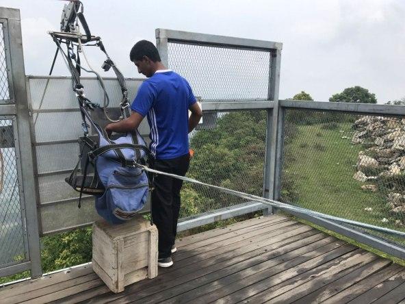Nepal-Zipflyer-Start