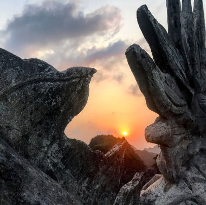 Ninh-binh-Sonnenuntergang