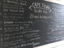 Capetown-Bucketlist