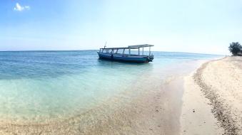 Gili-air-der-strand