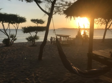 Gili-air-Sonnenuntergang