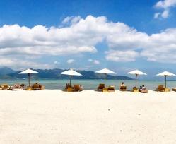 Gili-air-Strandtag