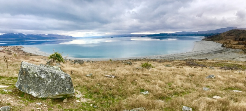 Lake-Pukaki-Zwischenstopp