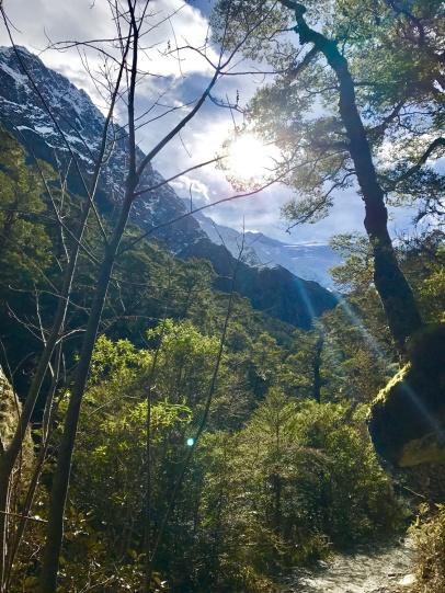 Mount-Aspiring-Gletscher