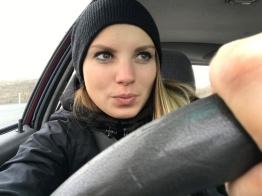 Roadtrip-Autofahrt