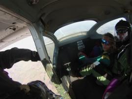Skydive-bereit-machen