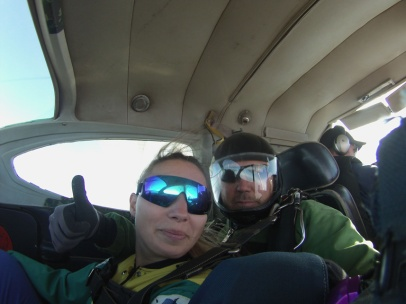 Skydive-im-Flieger