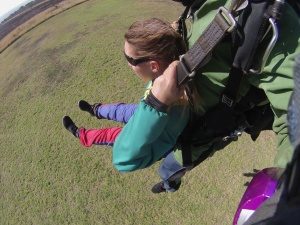 skydive-vorbereitung-landung